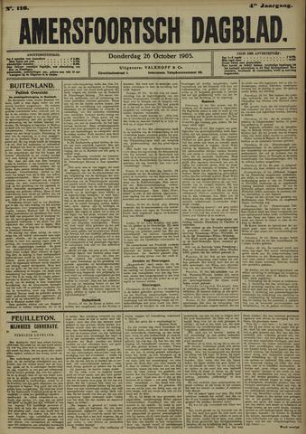 Amersfoortsch Dagblad 1905-10-26