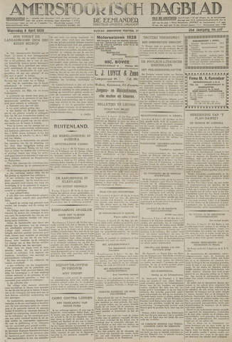 Amersfoortsch Dagblad / De Eemlander 1928-04-04