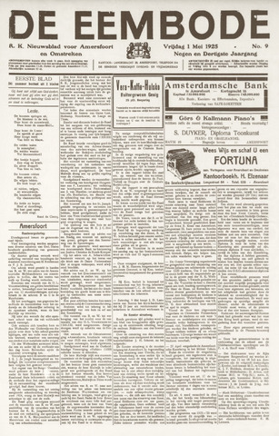 De Eembode 1925-05-01
