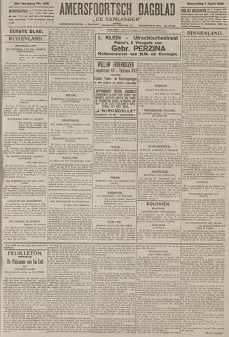 Amersfoortsch Dagblad / De Eemlander 1925-04-01