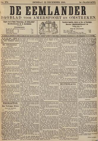 De Eemlander 1908-12-22