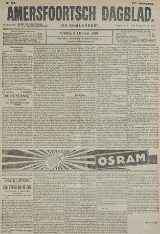 Amersfoortsch Dagblad / De Eemlander 1916-10-06