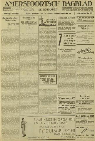 Amersfoortsch Dagblad / De Eemlander 1934-06-09