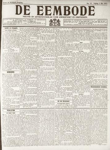 De Eembode 1913-05-02