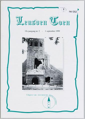 Historische Kring Leusden 1999-09-01