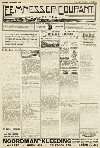 Eemnesser Courant 1924-10-03