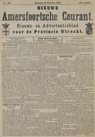 Nieuwe Amersfoortsche Courant 1917-12-29