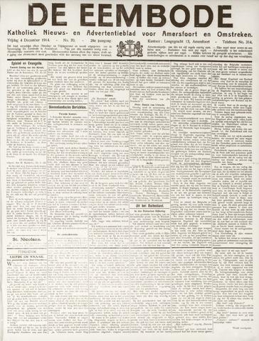 De Eembode 1914-12-04