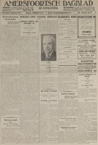 Amersfoortsch Dagblad / De Eemlander 1931-08-12