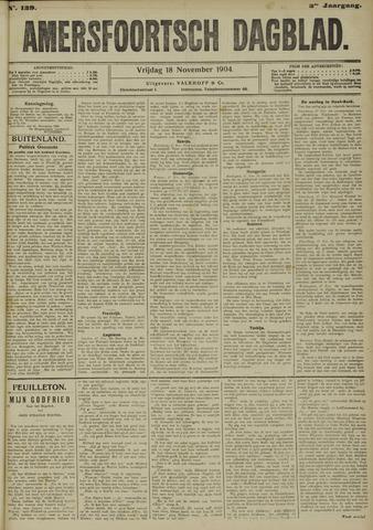 Amersfoortsch Dagblad 1904-11-18
