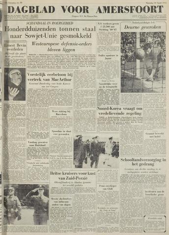 Dagblad voor Amersfoort 1951-04-16