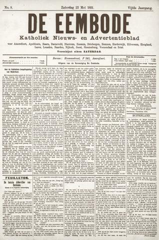 De Eembode 1891-05-23