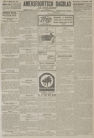 Amersfoortsch Dagblad / De Eemlander 1925-11-11