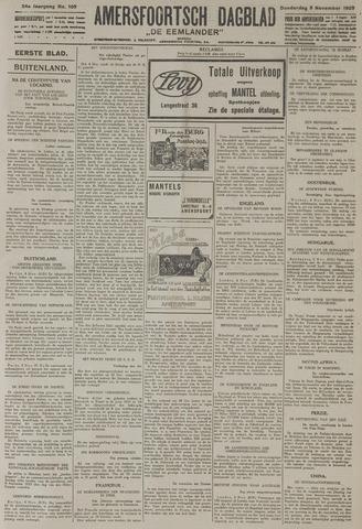 Amersfoortsch Dagblad / De Eemlander 1925-11-05