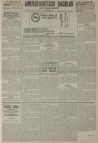Amersfoortsch Dagblad / De Eemlander 1923-09-21