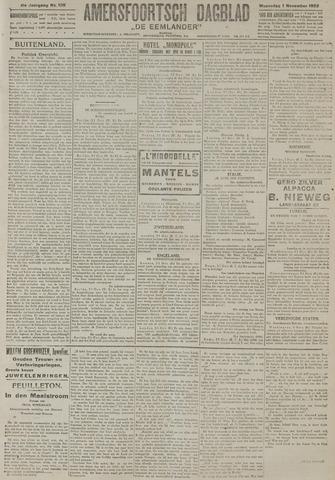 Amersfoortsch Dagblad / De Eemlander 1922-11-01