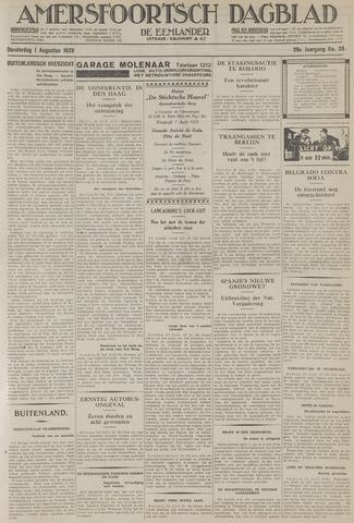 Amersfoortsch Dagblad / De Eemlander 1929-08-01