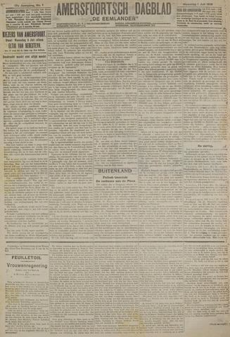 Amersfoortsch Dagblad / De Eemlander 1918-07-01
