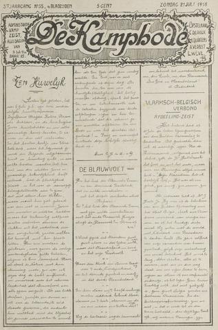 De Kampbode 1918-07-21