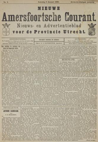 Nieuwe Amersfoortsche Courant 1898-01-08