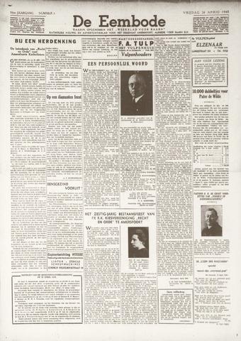 De Eembode 1940-04-26