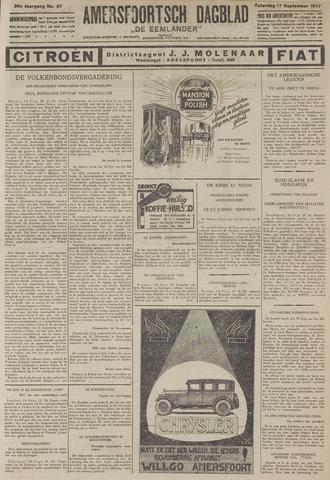 Amersfoortsch Dagblad / De Eemlander 1927-09-17