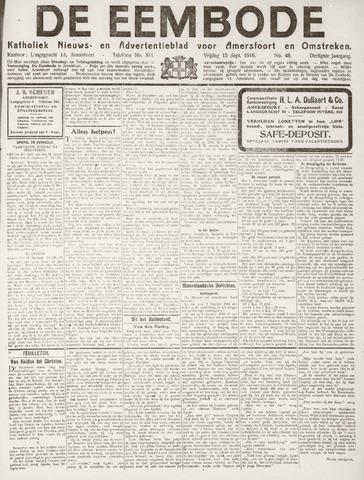 De Eembode 1916-09-15