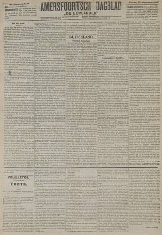 Amersfoortsch Dagblad / De Eemlander 1919-09-30