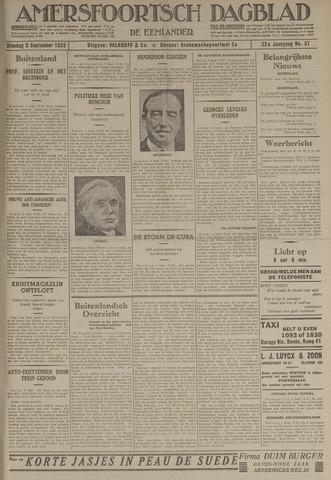 Amersfoortsch Dagblad / De Eemlander 1933-09-05