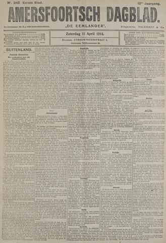 Amersfoortsch Dagblad / De Eemlander 1914-04-11