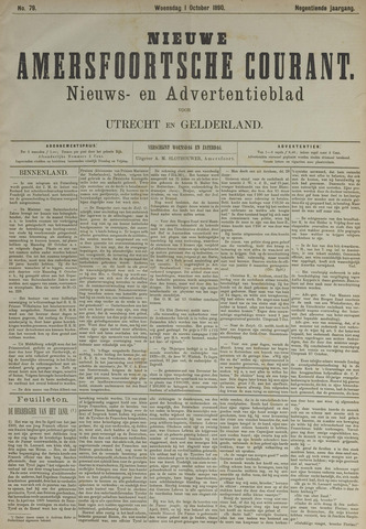 Nieuwe Amersfoortsche Courant 1890-10-01