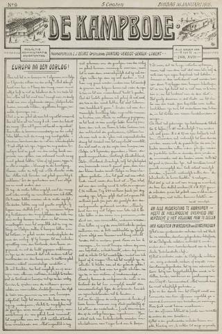 De Kampbode 1916-01-16