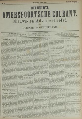 Nieuwe Amersfoortsche Courant 1887-05-04