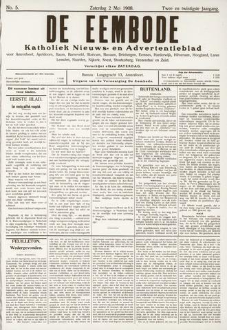 De Eembode 1908-05-02