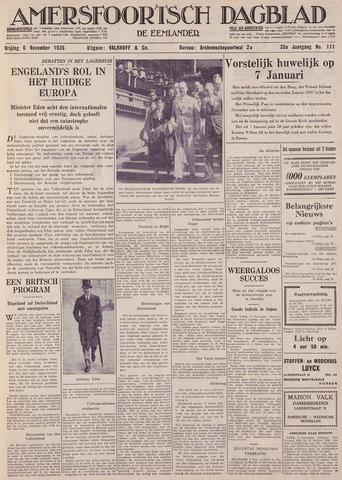 Amersfoortsch Dagblad / De Eemlander 1936-11-06