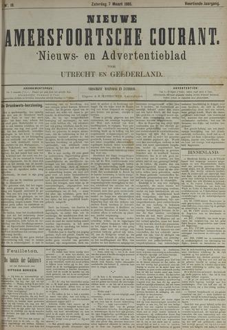 Nieuwe Amersfoortsche Courant 1885-03-07