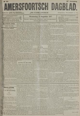 Amersfoortsch Dagblad / De Eemlander 1917-08-15