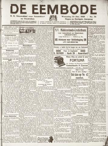 De Eembode 1925-12-23