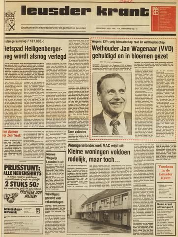 Leusder Krant 1985-07-02