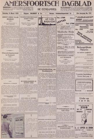 Amersfoortsch Dagblad / De Eemlander 1935-03-16