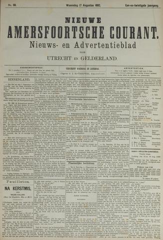 Nieuwe Amersfoortsche Courant 1892-08-17