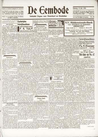 De Eembode 1934-07-10