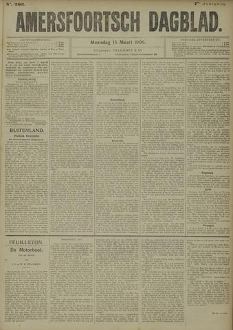 Amersfoortsch Dagblad 1909-03-15