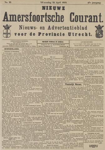 Nieuwe Amersfoortsche Courant 1918-04-24