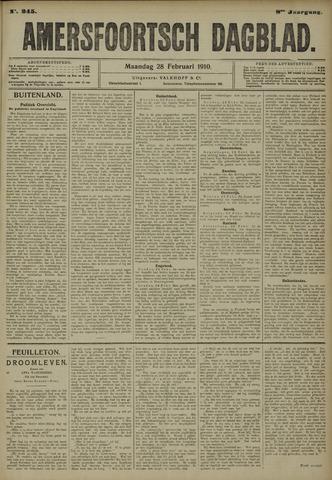 Amersfoortsch Dagblad 1910-02-28