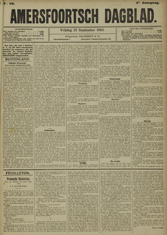 Amersfoortsch Dagblad 1905-09-22