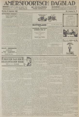 Amersfoortsch Dagblad / De Eemlander 1929-09-23