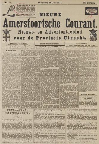 Nieuwe Amersfoortsche Courant 1914-06-10