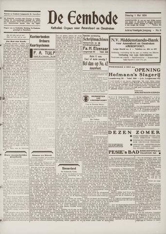 De Eembode 1934-05-01
