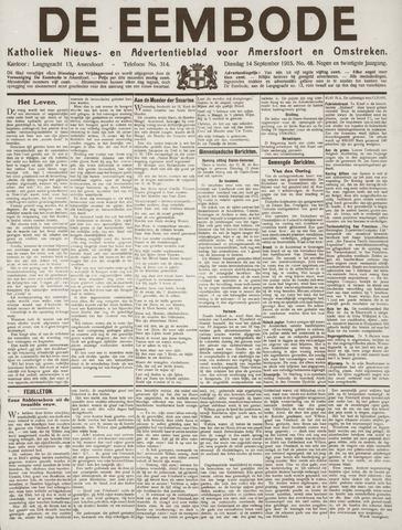 De Eembode 1915-09-14
